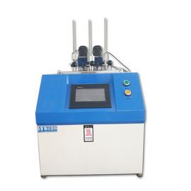 Chiny Thermal Deformation Plastic Testing Machine , PC Vicat Softening Point Tester dystrybutor